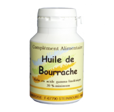 BOURRACHE +VITAMINE E