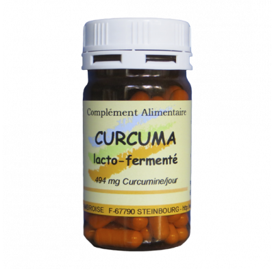 CURCUMA LACTO FERMENTED